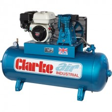 Clarke XP15/150 15cfm 150Litre 6.5HP Petrol Industrial Air Compressor