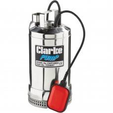 "Clarke DWP100A 1"" Submersible Dirty Water Pump With Float Switch"