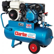 Clarke XPPV11/50 9cfm 50Litre 5.5HP Portable Heavy Duty Petrol Air Compressor
