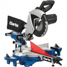"Clarke C2MS250MP 10"" 255mm Sliding Mitre Saw (230V)"