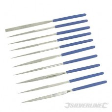 Diamond Needle File Set 10pce