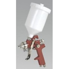 Sealey HVLP Gravity Feed Touch-Up Spray Gun 0.8mm Set-Up HVLP731