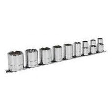 "Sealey Socket Set 9pc 1/2""Sq Drive Whitworth AK2677"