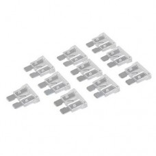 Silverline ATO Regular Automotive Blade Fuses 10pk (25A Clear)