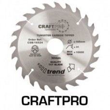 Trend Craft saw blade 184mm x 24 teeth x 16mm