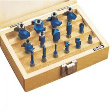 "Clarke CHT363 - 15 Pc Router Bit Set (½"" Shank)"
