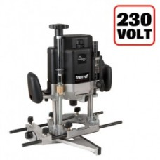 "Trend T11 1/2"" Variable Speed Workshop Router 2000W 230V"