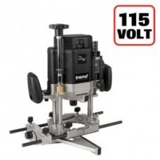 "Trend T11 1/2"" Variable Speed Workshop Router 2000W 115V"
