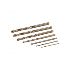 Silverline Cobalt Drill Bit Set 7pce (1.5 - 6mm)