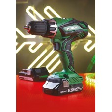 18V COMBI DRILL WITH 2X2.5Ah LI-ION BATTERIES