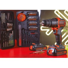 18V COMBI DRILL WITH 2X1.5Ah LI-ION BATTERIES