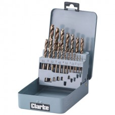 Clarke CHT383 - 19pc Drill Bit Set