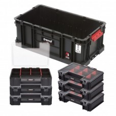 MS/C/200T/ORG - MODULAR STORAGE COMPACT TOTE 200 WITH MINI ORGANISERS