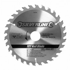 Silverline TCT Nail Blade 30T (184 x 30 - No Rings)