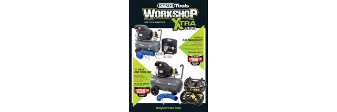 Draper Workshop Xtra 2016 Promotion